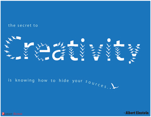 Office Posters-Office posters - Creativity