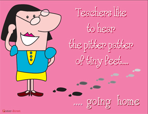 Teacher Posters - Witty Posters - Teachers Like to Hear