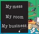 Office Posters-Office Posters - Teen Posters - Witty Poster - My Mess