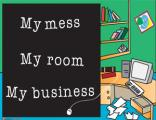 Office Posters - Teen Posters - Witty Poster - My Mess
