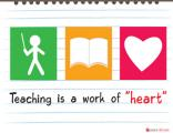 Teacher Posters - Motivational Poster - Work of Heart