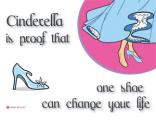 Women's Posters - Inspirational Poster - Cinderella